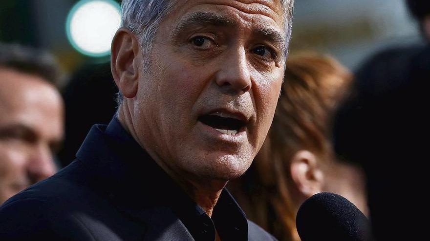 Duro alegato de George Clooney