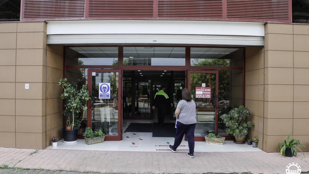 Sede de la Delegación de Servicios Sociales.