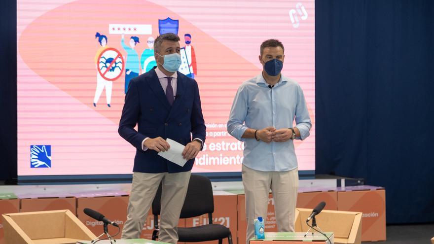 La AJE clausura en Caravaca el programa 'Ecosistema Juvenil de Emprendimiento Covid-19'