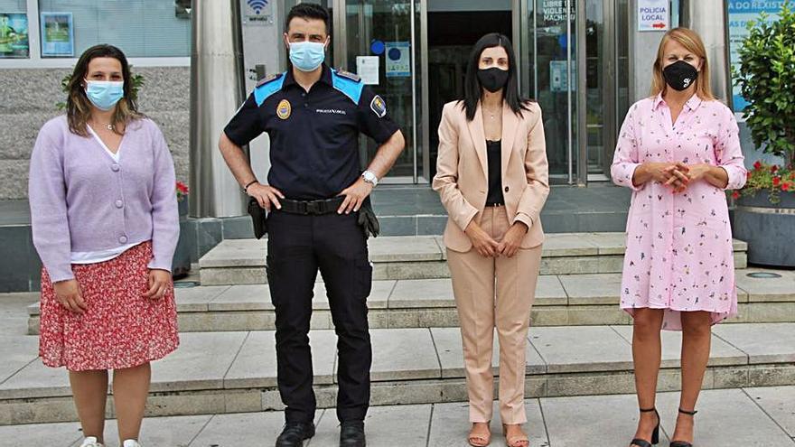 Salceda nombra a su primer oficial de la Policía Local