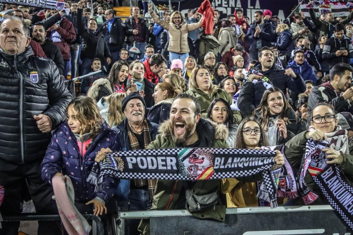 Las imágenes del Badajoz-Eibar en el Nuevo Vivero