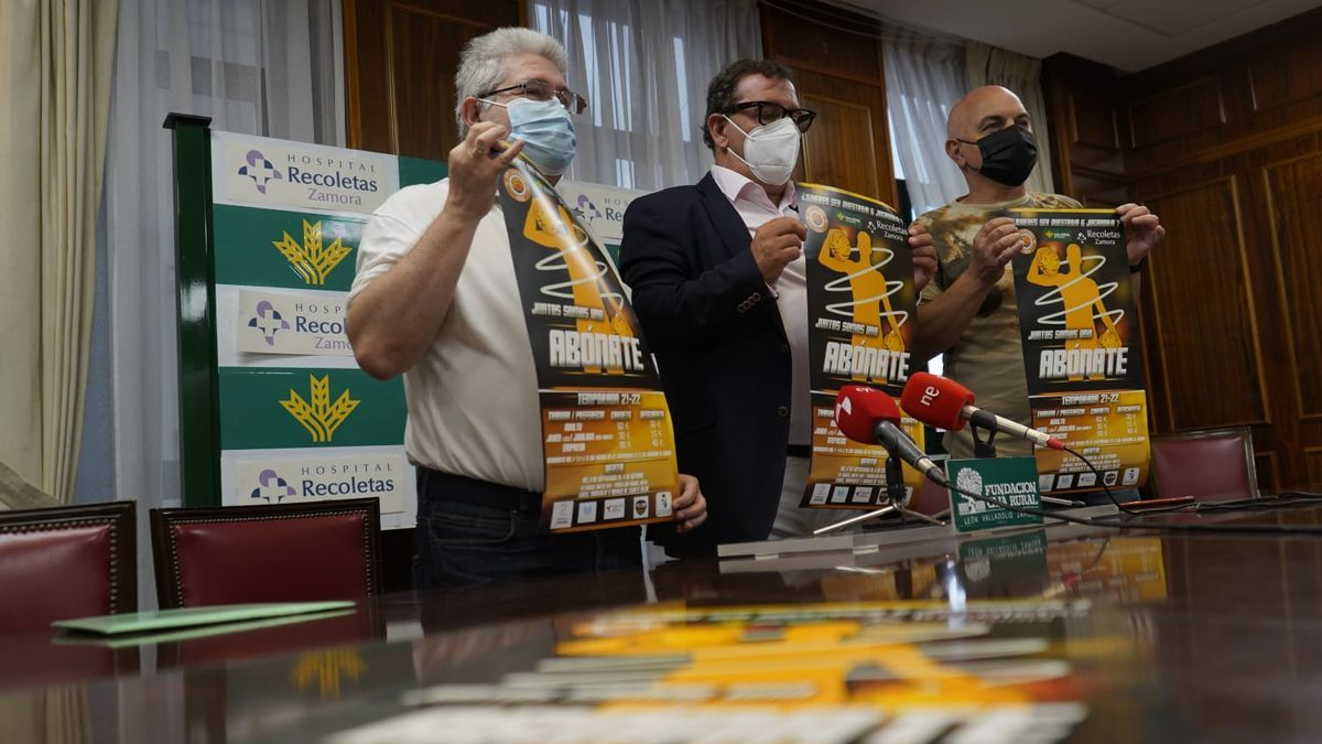 Presentación de la campaña de socios del CD Zamarat