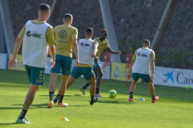 Entrenamiento de la UD Las Palmas (12/10/21)