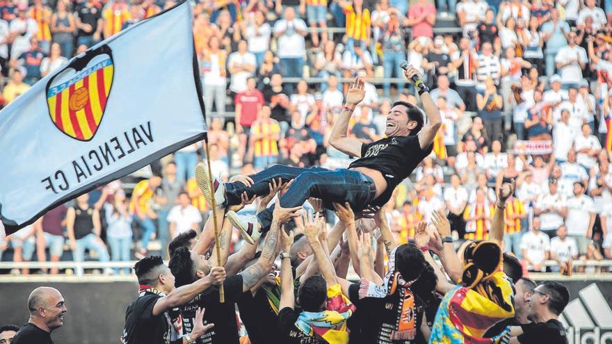 Marcelino: la leyenda continúa en Mestalla