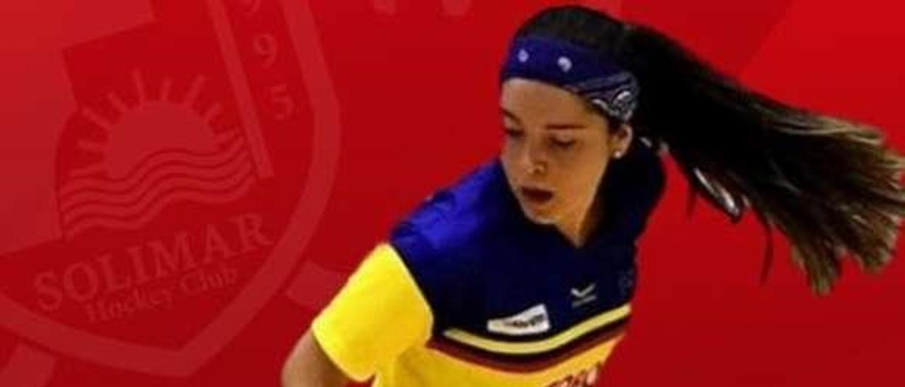 Sofía Ramírez, con la camiseta de la selección de Colombia.