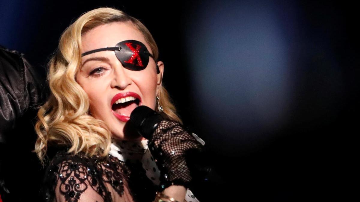 Madonna, en los premios Billboard 2019 en Las Vegas (EEUU).