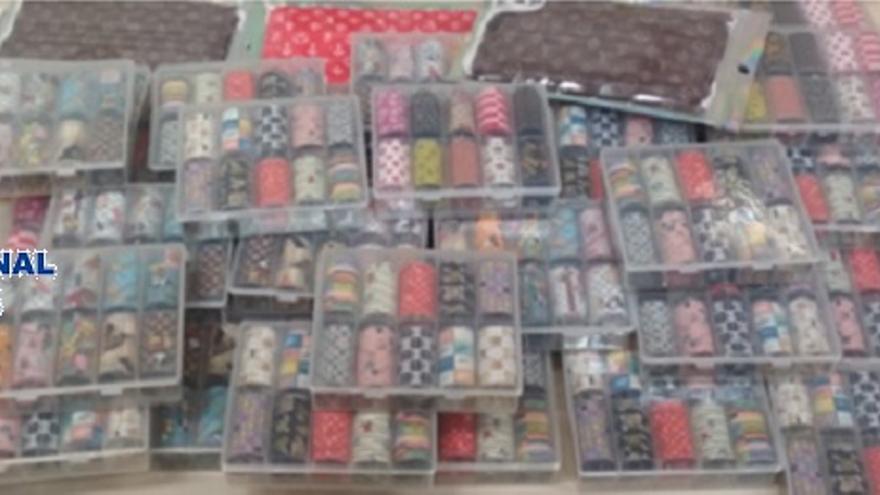 Intervienen más de 800 cosméticos falsificados para uñas en Alhaurín de la Torre