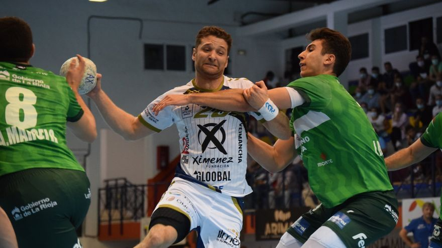 El Ángel Ximénez pierde ante el Logroño su primer partido