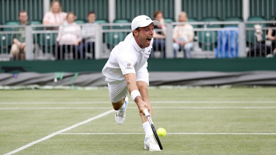 Suspendidos los partidos de Andújar y Zapata en Wimbledon