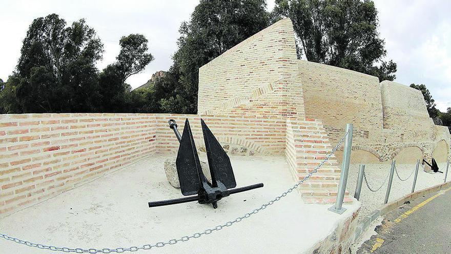 Reparan la Muralla de Carlos III tras las lluvias de la pasada primavera