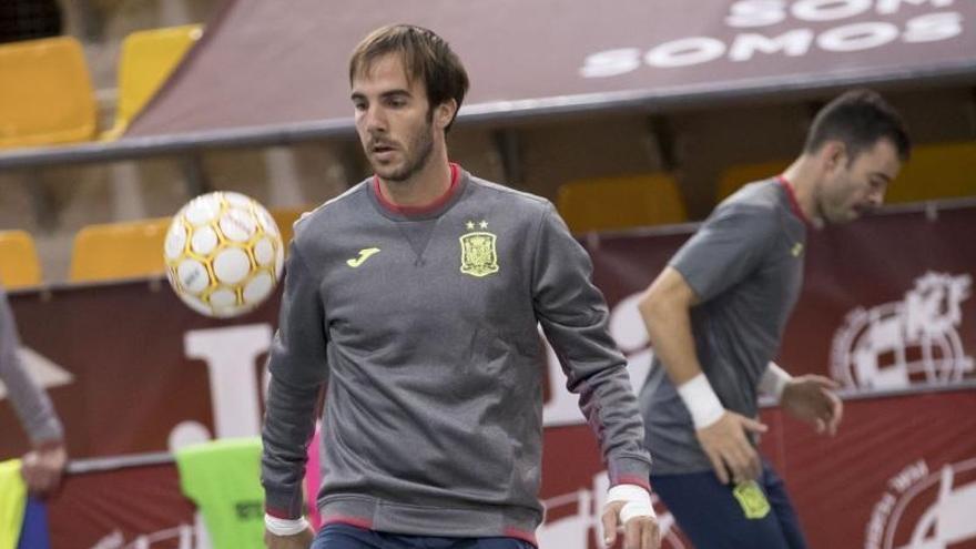 Carlos Barrón afina sus reflejos con España