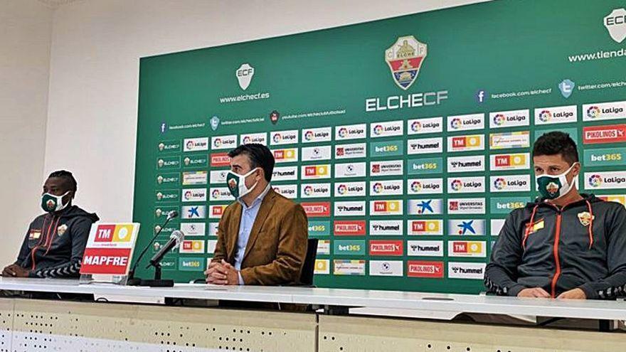 Nico Rodríguez frena la euforia pero espera que el Elche alargue su buen momento