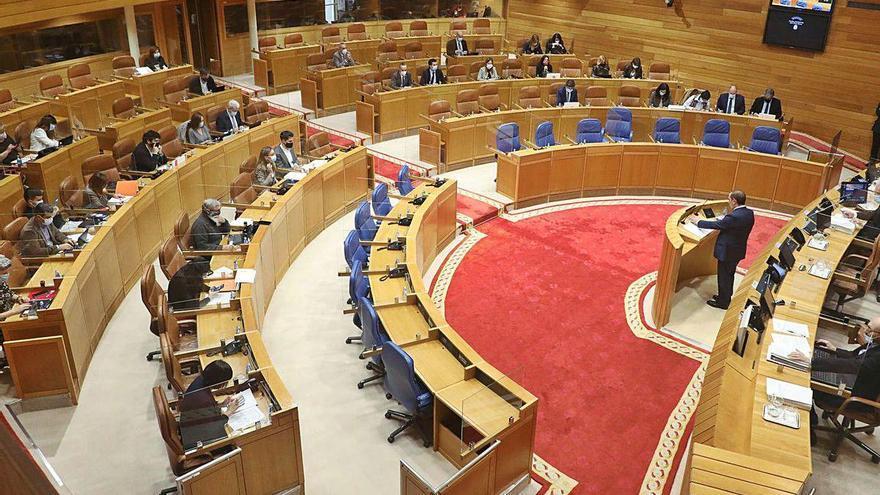 La Cámara aprueba el mayor techo de gasto de la historia con el no de BNG y PSdeG
