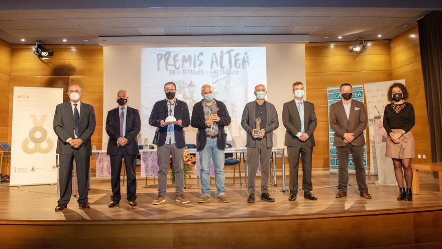 Altea entrega sus premios de Literatura i Investigació 2020