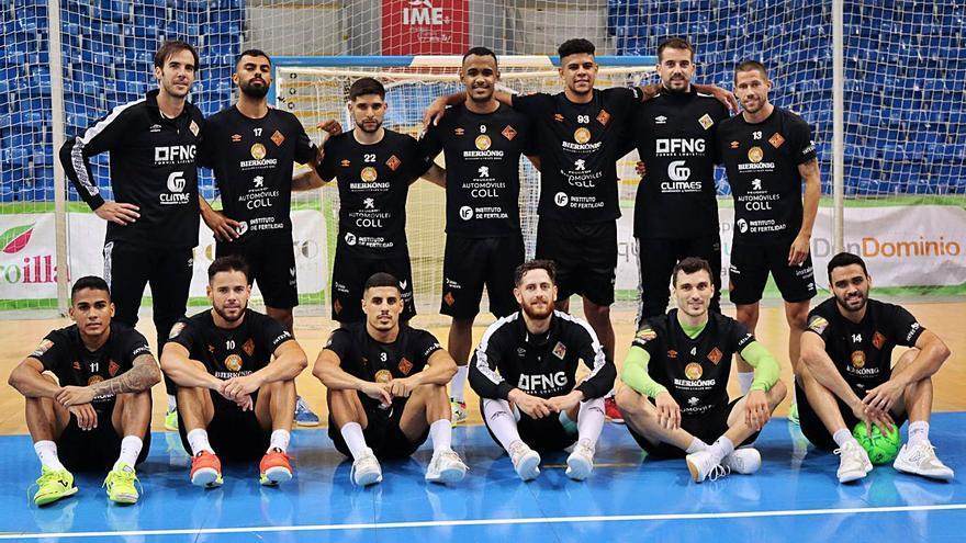 El Palma Futsal busca sellar hoy el billete hacia las semifinales en Zaragoza