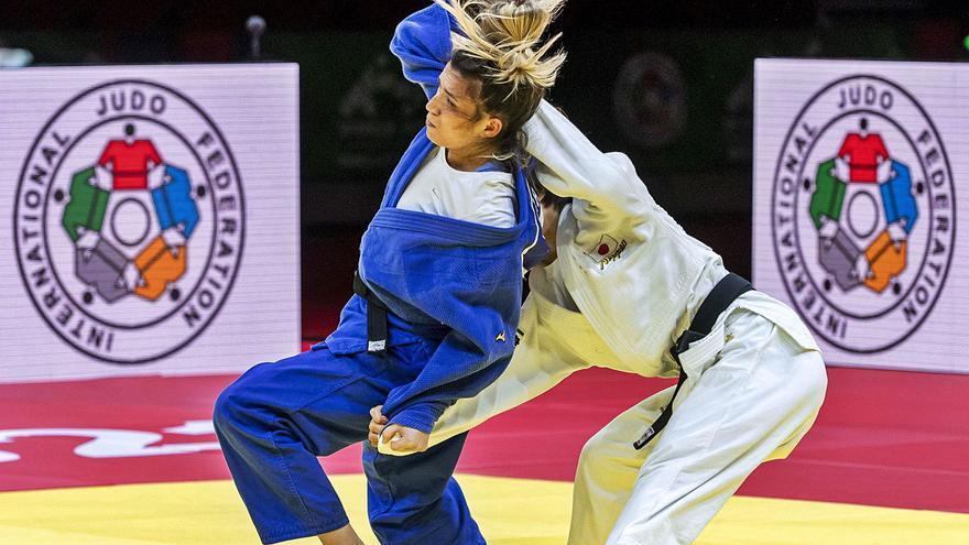 Ana Pérez Box, la judoca a la que el covid le sumergió en un mar de dudas