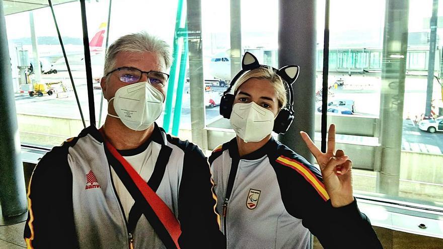 Michelle vuela hasta Tokio en busca de su tercer oro olímpico