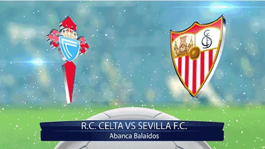 El Celta quiere impulsarse ante el Sevilla con el apoyo de Balaídos