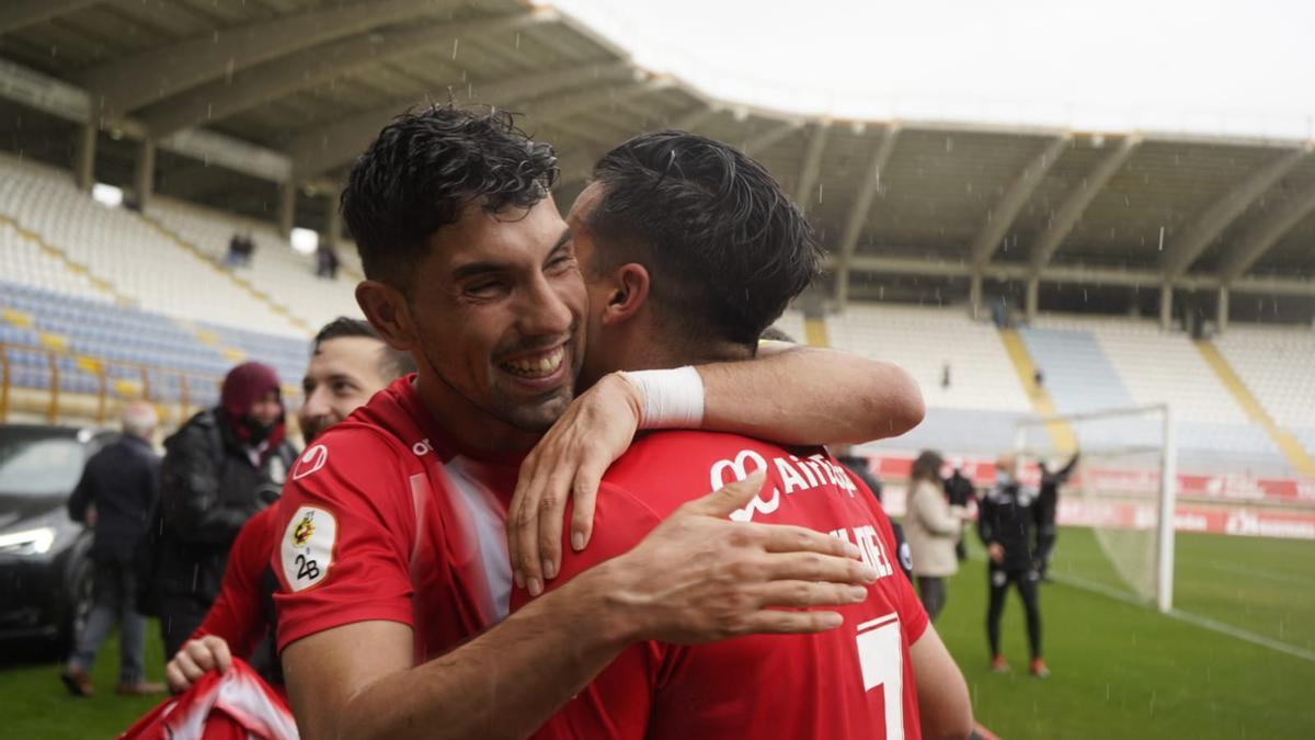 Carlos Ramos y Dani Hernández, hoy en el Reino de León