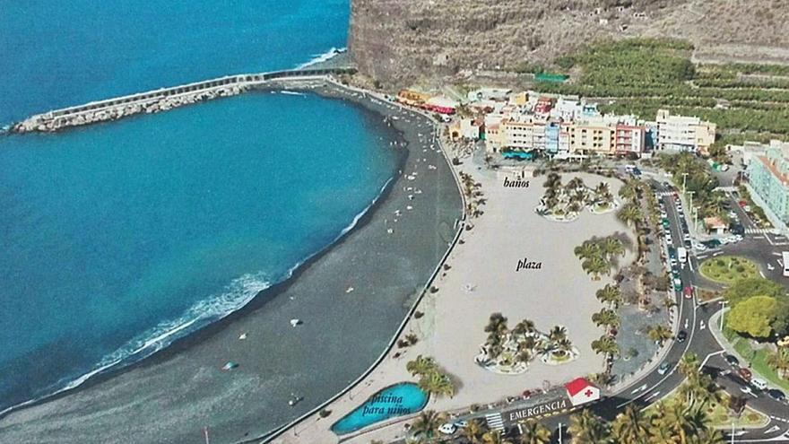 El Cabildo pide un consenso para rehabilitar el Puerto de Tazacorte
