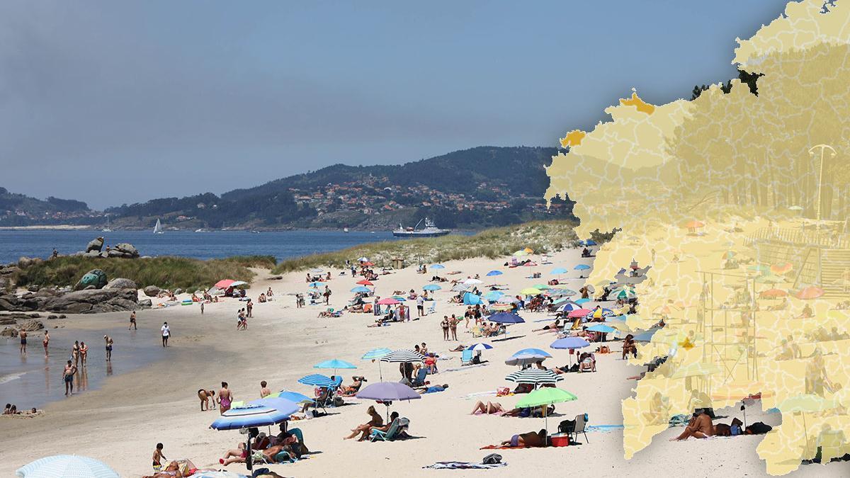 Mapa de las restricciones en Galicia