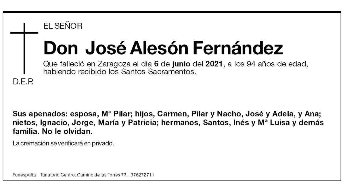 José Alesón Fernández