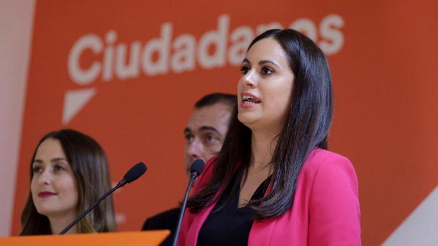 """Espino subraya que Cs también crece en Canarias """"cuando se abren las urnas"""""""