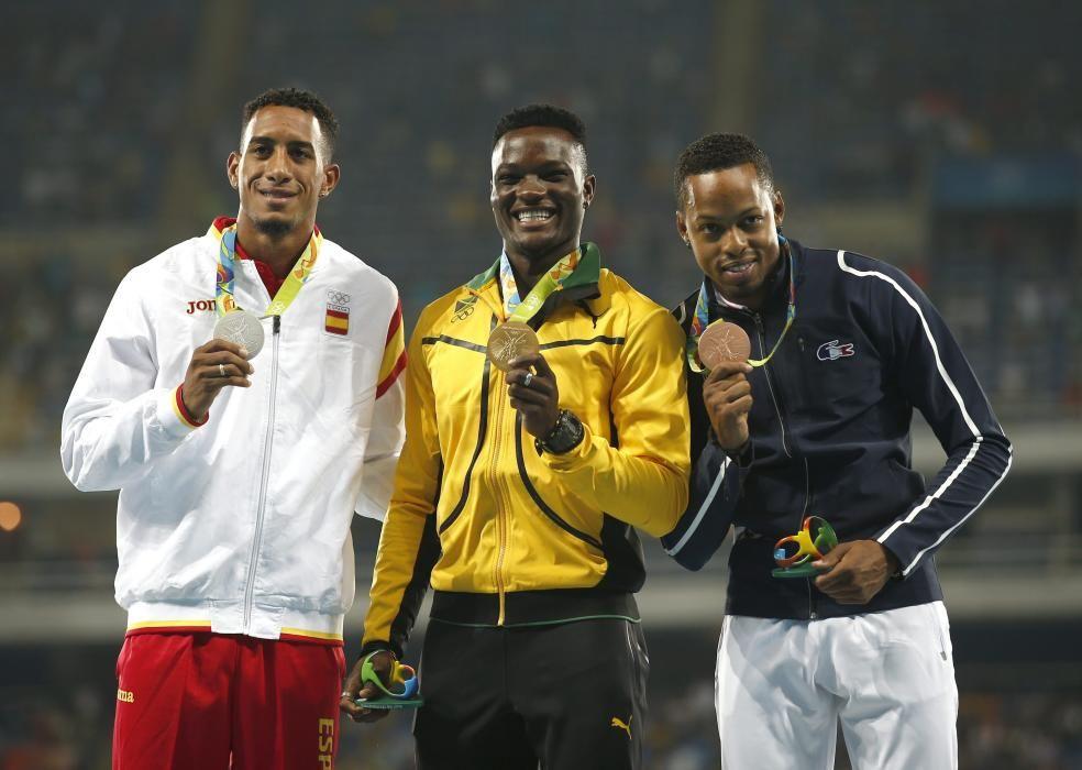 Orlando Ortega: Plata en atletismo 110m vallas