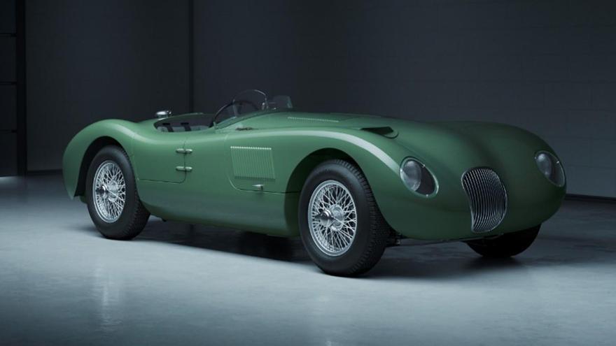 El legendario Jaguar C-Type de 1953 vuelve a producción 70 años después