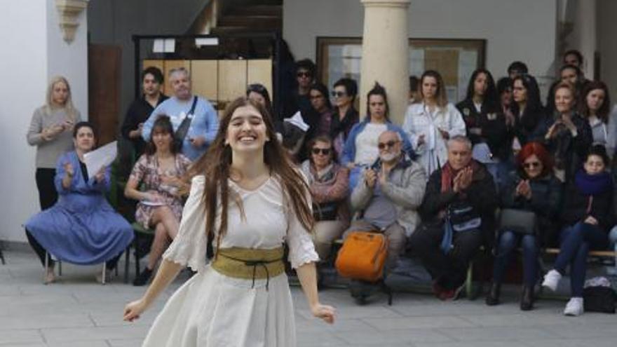 Igualdad real entre música, teatro y poesía