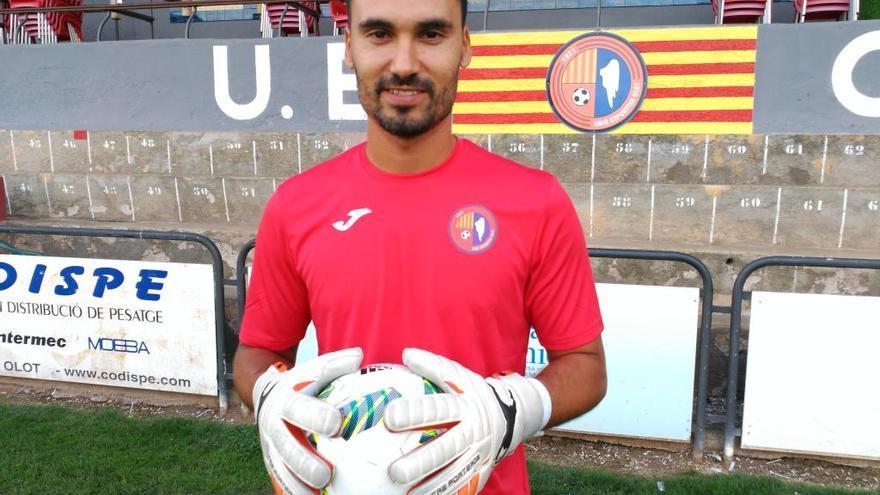 Xavi Ginard rescinde con el Olot y ya es jugador del Atlético Baleares