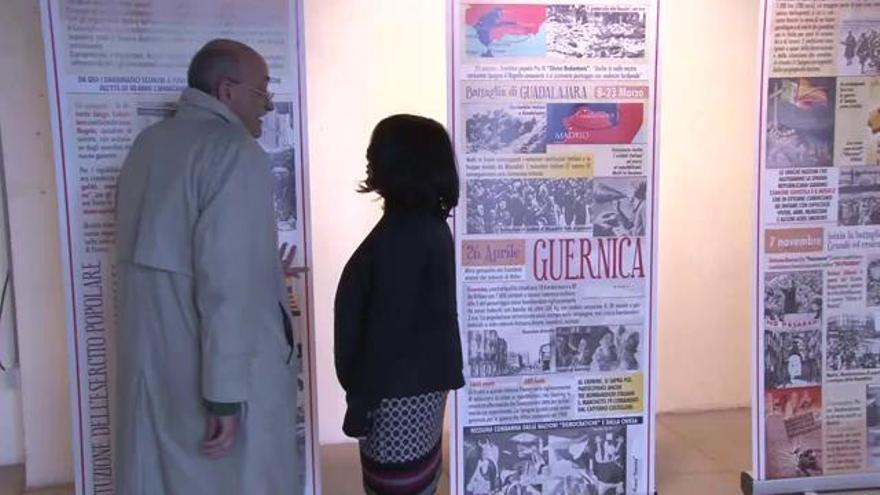 Itàlia recorda en una gran retrospectiva els bombardeigs feixistes a Catalunya durant la Guerra Civil