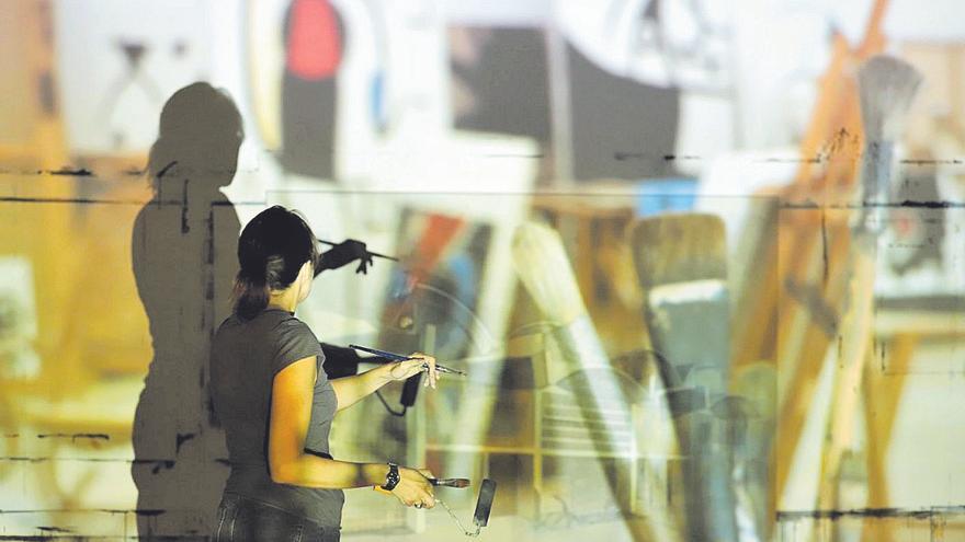 Arte para reflexionar sobre la luz en el taller Sert de Joan Miró