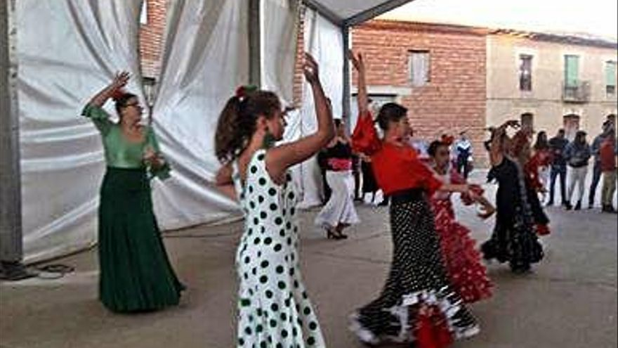 Un encierro campestre y carretones para animar la jornada festiva en Matilla