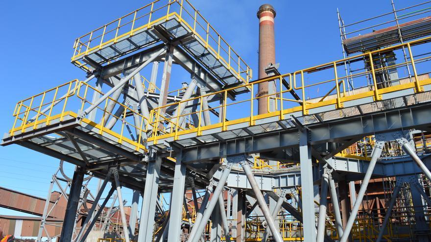 Vía libre a la mejora ambiental del sínter A de Arcelor tras renegociarse el contrato