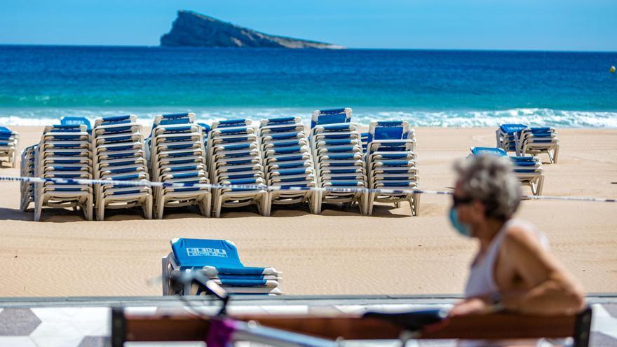 Benidorm mantendrá sus playas cerradas al menos hasta el 15 de junio