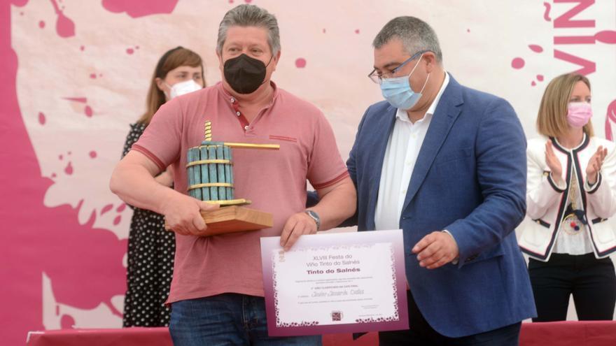 Estos son los 12 ganadores en la Festa do Viño Tinto de Barrantes