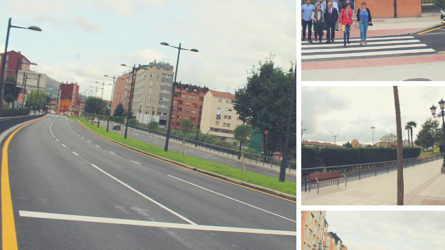 La reurbanización de la calle Goya conecta los barrios y recupera el espacio urbano para las personas