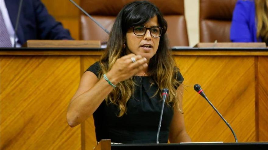 "Teresa Rodríguez critica el carácter ""antiandaluz"" del Gobierno"