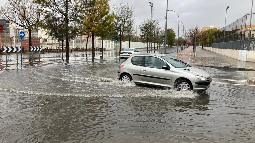 Las lluvias vuelven con especial intensidad en el extremo sur de la provincia y la Marina Alta