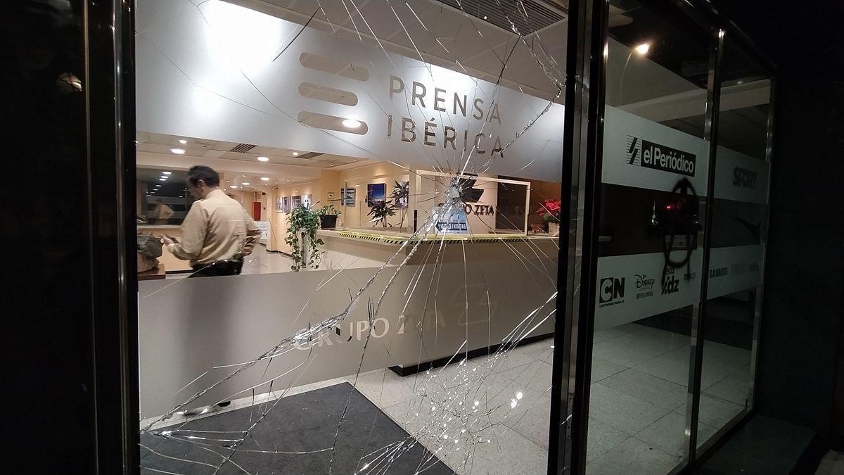 Ataque a la sede de El Periódico de Cataluña