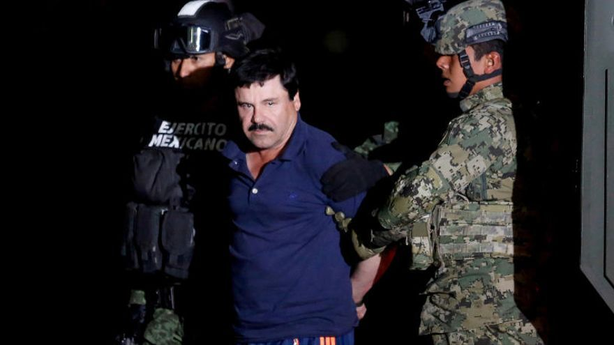 'El Chapo', trasladado a una cárcel de máxima seguridad