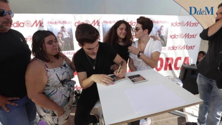 Gemeliers enloquecen a sus fans en Palma