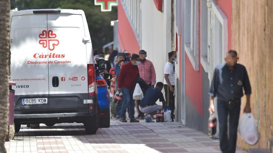 Entre dos y tres familias piden ayuda a Cáritas cada semana para no perder la casa