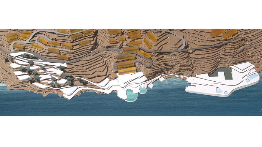 Santa Cruz rescata el proyecto del Parque Marítimo de Añaza de hace 18 años