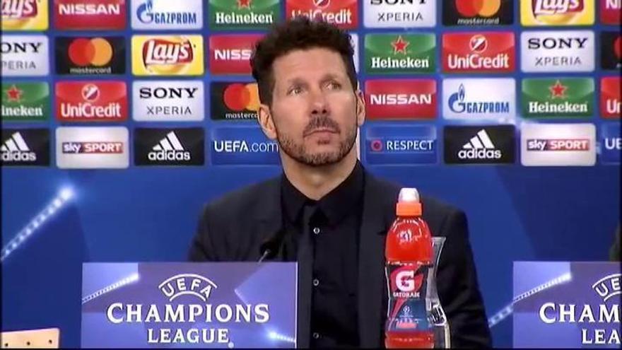 El Atlético de Madrid confirma el positivo por COVID-19 de Simeone