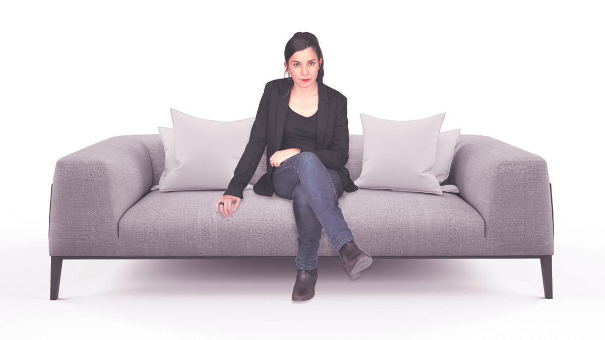 La entrevistada, Raquel S. Alarcón.