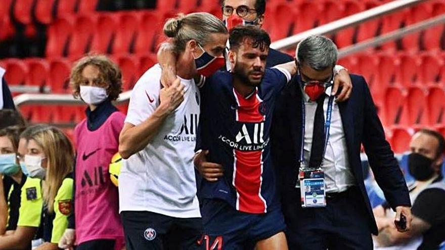 El PSG confirma una lesión de gravedad de Juan Bernat