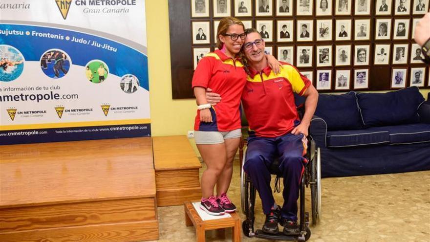Entrenamiento en el Metropole para los Juegos Paralímpicos