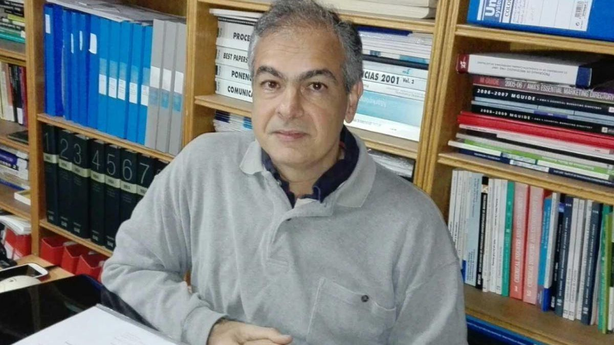 El profesor de la ULPGC, Gonzalo Díaz Meneses